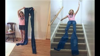 DIY 9-Foot-Long Extendo Jeans