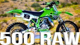 4. Kawasaki KX500 2 Stroke RAW featuring Destry Abbott - Dirt Bike Magazine