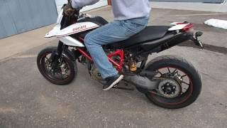 4. Lot 43A - 2010 Ducati Hypermotard 1100 EVO SP Motorcycle