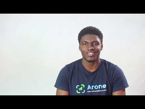 Arone, drone delivery startup