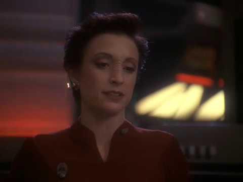 Major Kira Welcome The Dominion to Terok Nor