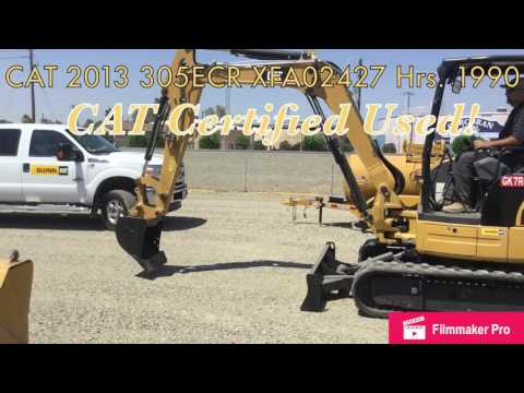 CATERPILLAR ESCAVADEIRAS 305E CR equipment video nd0pbAram08