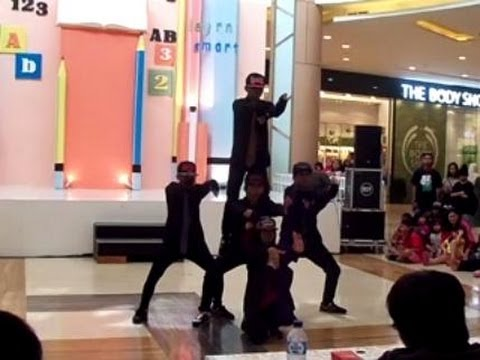 Shocking Swag Crew @Grand Park Galaxy Mall Bekasi