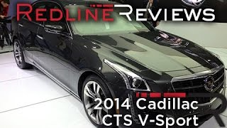 2014 Cadillac CTS V-Sport - 2013 New York International Auto Show