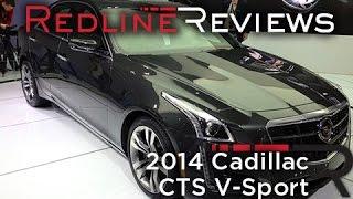 2014 Cadillac CTS V-Sport - 2013 New York International Auto Show