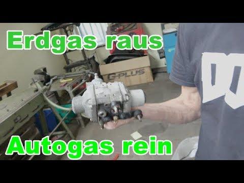 Erdgas Opel auf Autogas umrüsten + Mercedes C-Klas ...