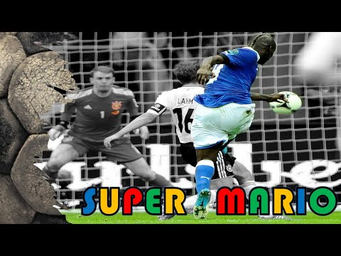 balotelli segna due goal alla germania