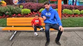 Ben Aaron Goes Wild At Sesame Place