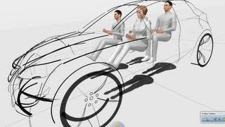 CATIA V6 | Industrial Design | 3DSketching with CATIA for Creative Designers