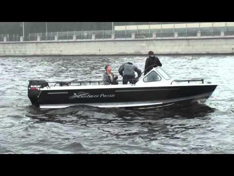 тест драйв алюминиевой лодки