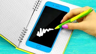 10 Weird Ways To Sneak Gadgets Into Class / School Pranks And Life Hacks