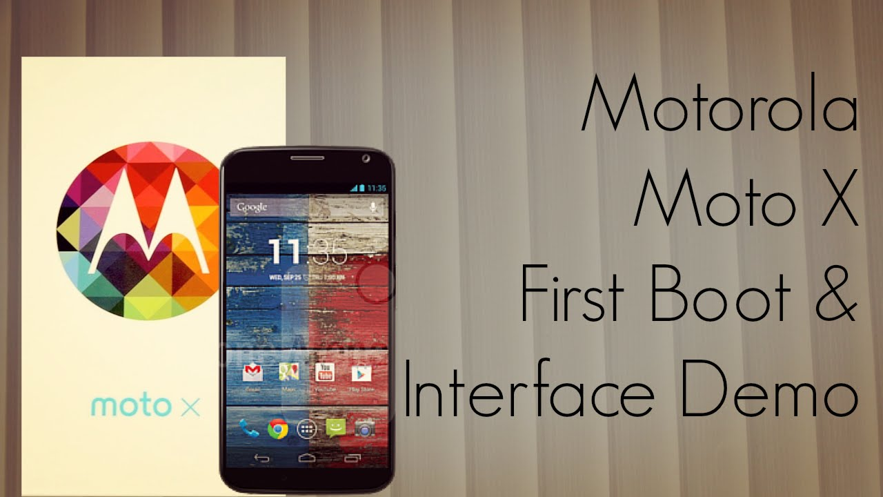 Descargar Motorola Moto X First Boot & Interface Demo / Pre-Installed Apps / Camera – PhoneRadar para Celular  #Android