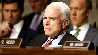 McCain, 80, was found to have a brain tumor known as a glioblastoma after undergoing a procedure to remove a blood clot near his left eye, according to a statement from Mayo Clinic Hospital in Phoenix.
