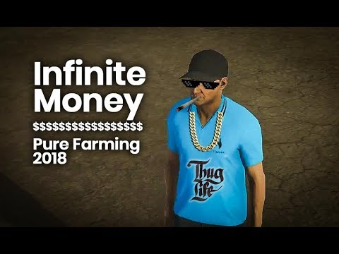 Unlimited money in PF2018 v1.0