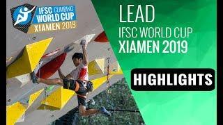 IFSC World Cup Xiamen 2019 - Lead Highlights by International Federation of Sport Climbing