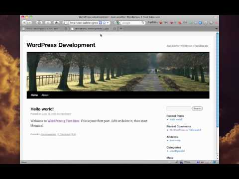 WordPress 3 MultiSite Setup
