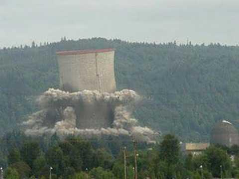 Implosiones en cámara lenta