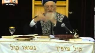 """הרב מרדכי אליהו – פרשת תולדות (ה'תשנ""""ט)"""
