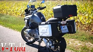 9. BMW R 1200 GS Vario cases - adjusting capacity & removal