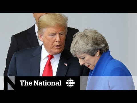 No U.S. ally safe from Trump's criticism at NATO summit