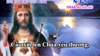 KARAOKE THANH CA VC-TINH YEU THIEN CHUA (DAY DAO)