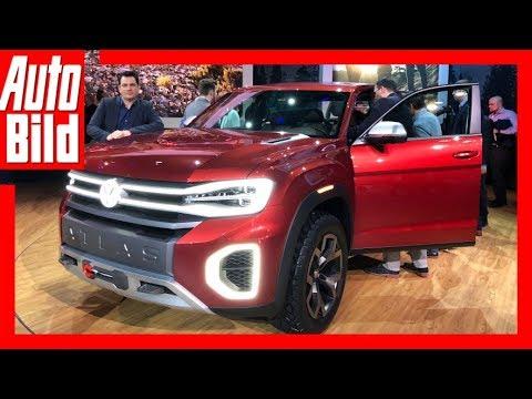 VW Atlas Tanoak (2018) Details/Erklärung/Sitzprobe