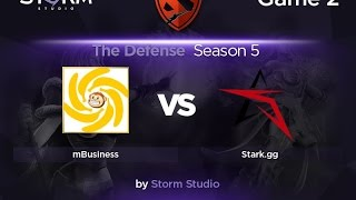 STARK vs mBusiness, game 2