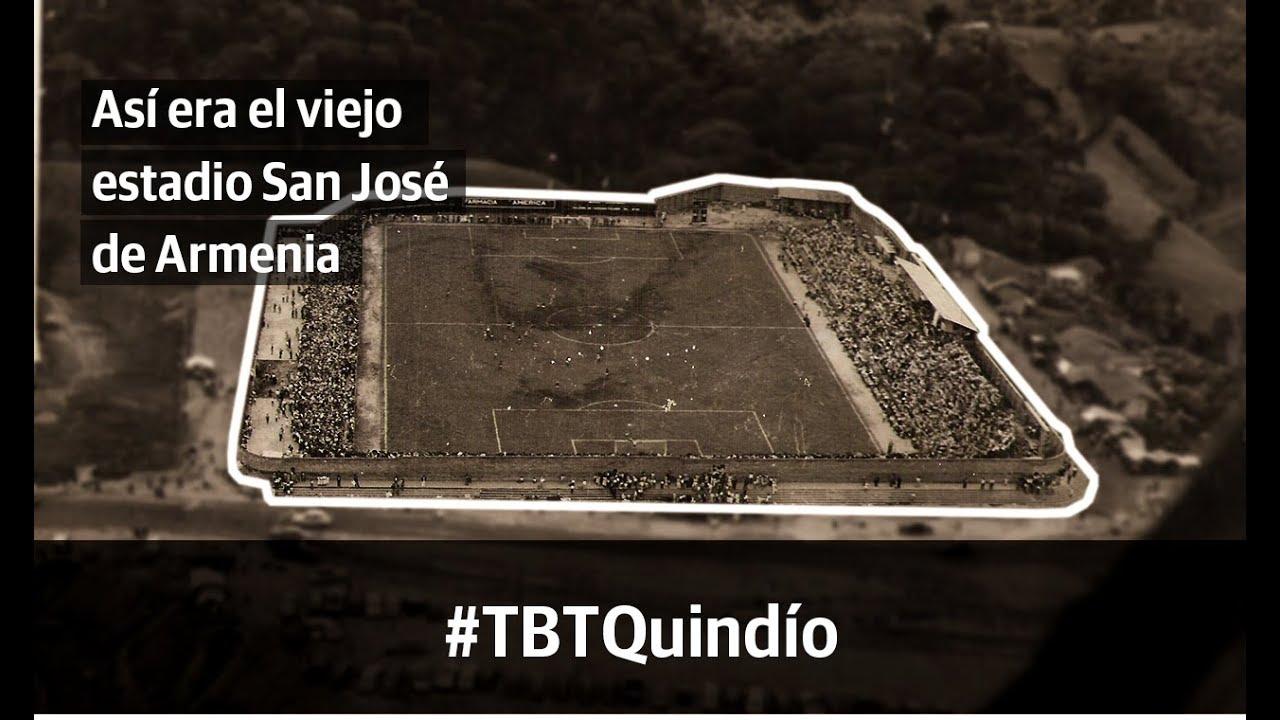 #TBTQuindío: El viejo estadio San José