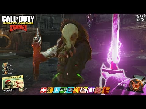 SHAOLIN SHUFFLE - MAIN EASTER EGG COMPLETE GAMEPLAY WALKTHROUGH (INFINITE WARFARE ZOMBIES)