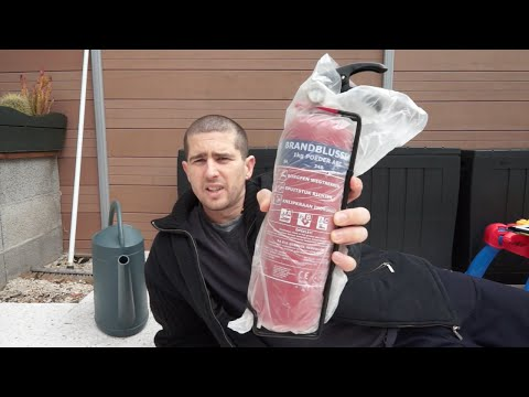 Test #5 -Extincteur poudre- ArtificierMathieu