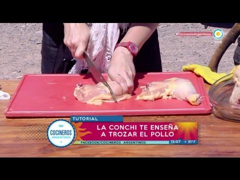 Como trozar el pollo