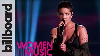 Video Halsey 'Colors' Live Performance | Billboard Women in Music 2016 download in MP3, 3GP, MP4, WEBM, AVI, FLV January 2017