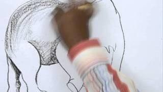 Видео урок: как нарисовать слона карандашом