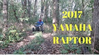 9. 2017 YAMAHA RAPTOR 700 ON TRAILS + HONDA DEAD?!?!