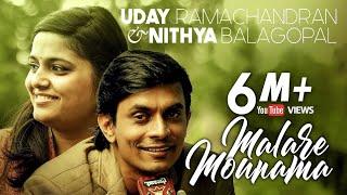 Video Malare Mounama (Cover) | Uday Ramachandran | Nithya Balagopal | 2015 MP3, 3GP, MP4, WEBM, AVI, FLV Oktober 2018