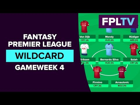 Wildcard Activated | FPL GAMEWEEK 4 | FANTASY PREMIER LEAGUE
