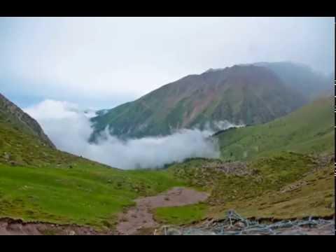Незабываемое путешествие в Киргизских горах (видео)