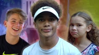 Justin's Playground FAILS!  (with MattyBRaps & Haschak Sisters) full download video download mp3 download music download