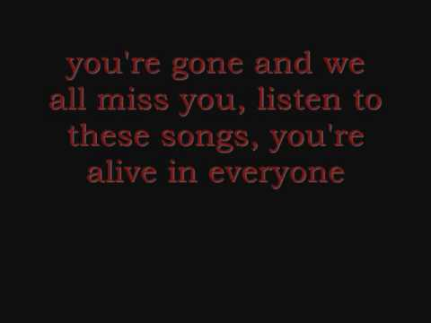 Good Charlotte - You're gone lyrics