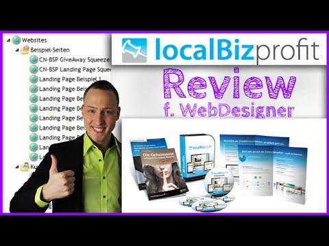 LocalBizProfit Review (Kunden Websites erstellen, Homepage Baukasten, CMS mit ÜBERSICHT)