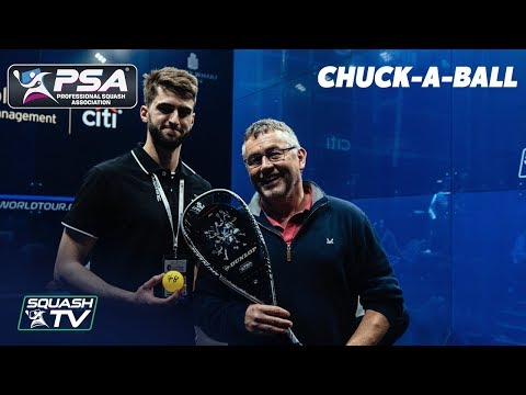 PSA Foundation's new Dunlop Squash 'Chuck a Ball Challenge'