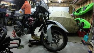 9. TR650 end of season maintenance 2nd day