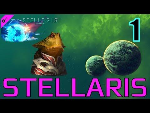 STELLARIS (Утопия, Безумие) - Из Болот к Звёздам - Swampbringer Empire!