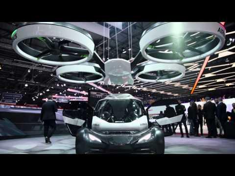 Italdesign Airbus PopUp at the Geneva International Motor Show 2017