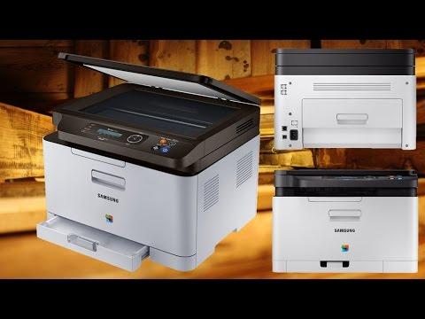 Samsung C480W Laserdrucker - Unboxing - Techcheck