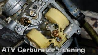 10. ATV Carburetor Cleaning