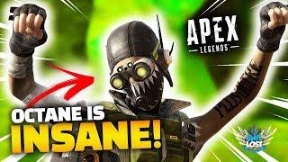 Apex Legends Octane is INSANE! New Hero Gameplay!