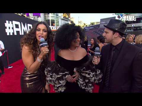 Diana Ross Red Carpet Interview - AMAs 2014