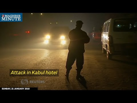 Gunmen attacked Kabul's InterContinental Hotel, seizing hostages and exchanging gunfire with security forces