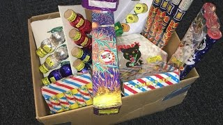Video Enjoying a Box of Fireworks MP3, 3GP, MP4, WEBM, AVI, FLV Maret 2019